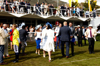 The L'Ormarins Best Dressed Lady at Goodwood on Friday 04 August 2017.